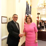 H.E. Ambassador Dr. Arjun Kumar Karki paid courtesy call to USA Congresswomen the Democratic minority leader Mrs. Nancy Pelosi at her office Rayburn Building Thursday, May 02, 2017. Mrs. Pelosi is planning a trip to Nepal with.